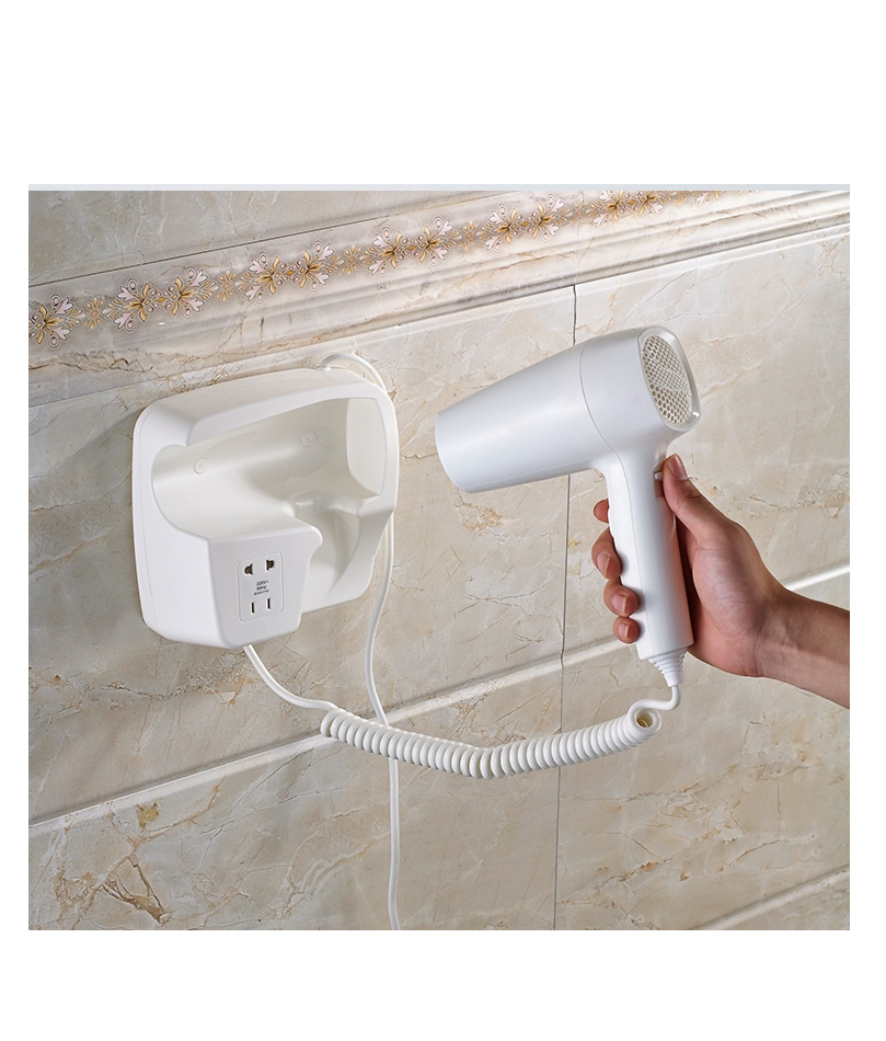 OBT-2115 Hotel Bathroom Wall Mounted Hotel Electric Hair Dryer photo2