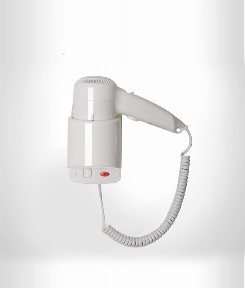 H02B Hotel Hair Dryer Wall Mountin-photo